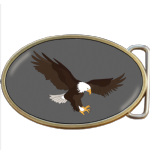 Eagle Attacking Belt Buckle. Code A0007